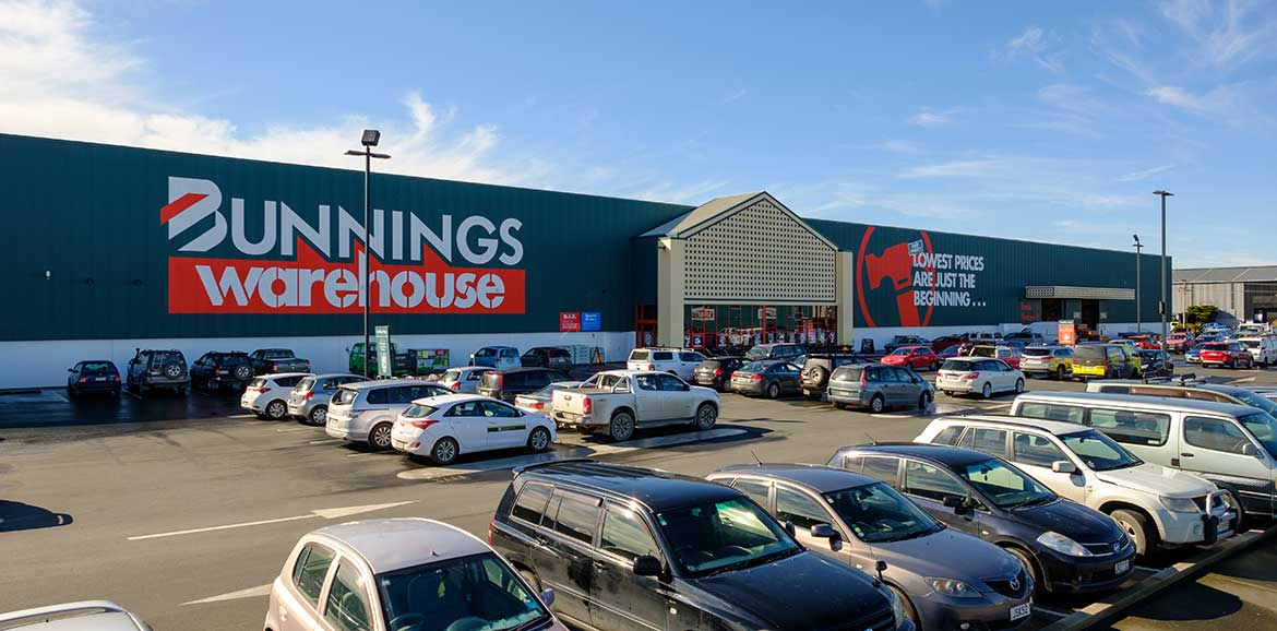 Commercial Project - Bunnings